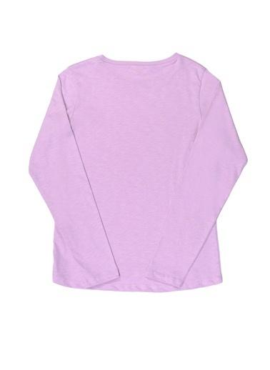 Pink&Orange Tişört Lila